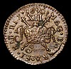 Ireland Shilling 1690 June. S.6582G VF pitted with a few small spots