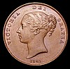 Penny 1847 DEF Close Colon Peck 1492 GEF with some light scuffs on the obverse