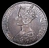 Crown 1847 Gothic ESC 288 UNDECIMO nEF with some bag marks and a dark grey tone