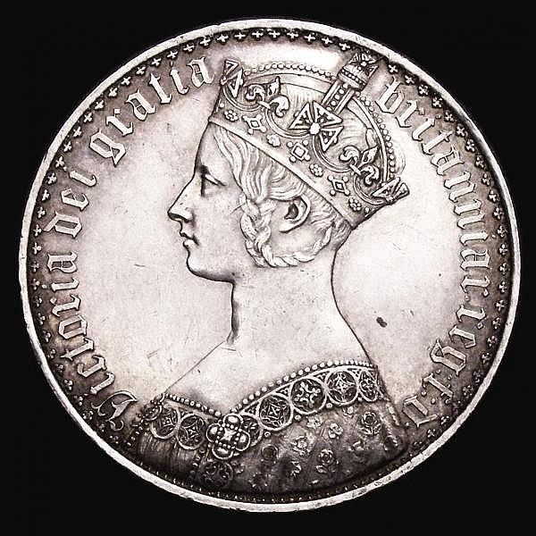 Crown 1847 Gothic UNDECIMO ESC 288 GVF