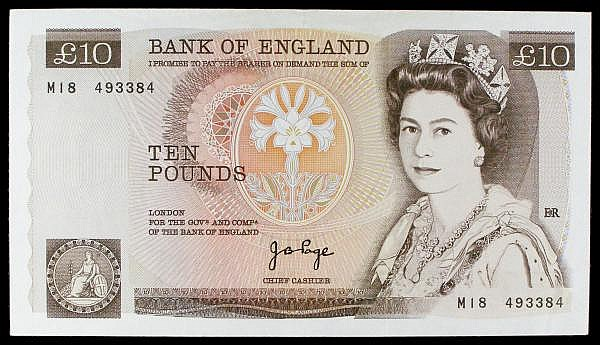Ten Pounds Page Replacement B331 M18 493384 EF pressed