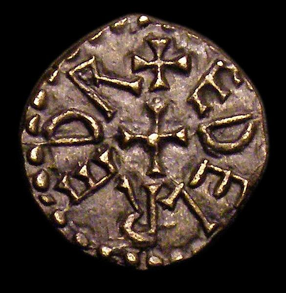 Styca, Kings of Northumbria, Aethelred II (First Reign 841-843/4) S.865 moneyer Leofdegn VF