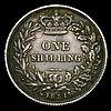 Shilling 1851 ESC 1298 Good Fine with grey tone