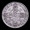 Sixpence 1674 ESC 512 Good VF even tone