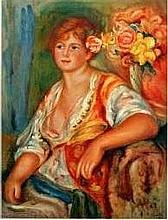 Paul Renoir, Hand Signed Lithograph