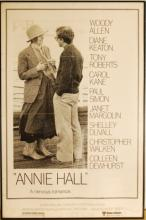 ANNIE HALL original movie poster '77 full-length