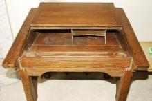 Antique Early 19th Century Slant Top Writing Desk