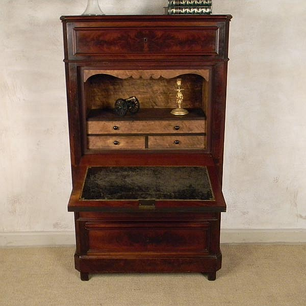 1900's French Louis Phillipe Secretary Chest