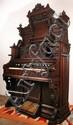 Antique Victorian Loring & Blake Palace Pump Pedal Organ
