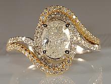 1.43ct Diamond Ring in White Gold