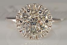 1.50 Carat Diamond Ring in 14KWG