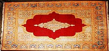10' x 15' Hand Woven Persian Kerman Rug