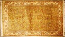 Hand Woven Indo Jaipur Wool Rug 5'10