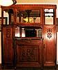 Large Art Deco Antique Armoire/Wardrobe