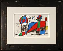 Joan Miro, VI, Original Lithograph, 1975