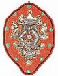 Tibetan Art Deco, Beads, Turquoise & Brass