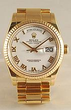 Original 18K Rolex Presidential
