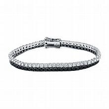 9.78ct Diamond Bracelet 18K