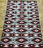 3.5' x 5' Chinle Navajo Rug by Loretta Yazzie
