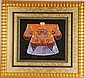 Framed Chinese Dragon Robe