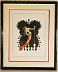Erte, Star Dancer, Signed Ltd Ed Serigraph