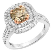 2.18 Carat Diamond Ring in 14K Gold