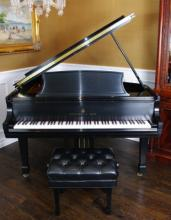 Steinway & Sons Model L Grand Piano & Bench