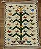 Tree of Life, Genuine Navajo Rug Woven by Marie Begay (Navajo)
