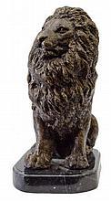 Lion King Bronze Statue 11