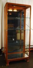 Austrian Art Nouveau Curio/Display Cabinet