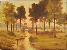William L Herbert, Original Oil on Canvas