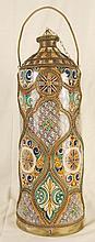 Vintage Moroccan Urn/Vase Lidded