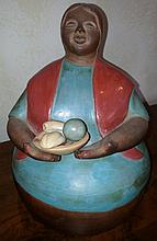Jumbo Cruz Chulicanas Sculpture