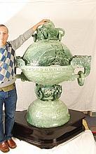 Monumental Henan Jade Incense Burner