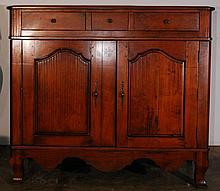 Vintage Wooden Entertainment Cabinet
