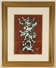 Jacques Lipchitz, Tree of Life, Pencil Signed