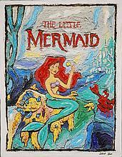 Leslie Lew, Original Sculpted Oil , Little Mermaid