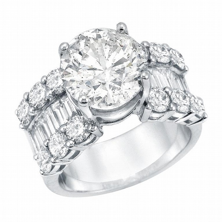 6.77 Diamond Ring