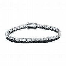 9.78ct Diamond Bracelet 18K