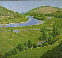 Frank Vincent DuMond, N.A. (1865 - 1951)