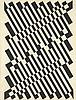 Georges CONNAN (1912-1987)  Diagonales chromatiques  Technique mixte sur papier marouflé sur toile, signé en bas à droite  114 x 88 cm  (tâches et traces de plis), Georges Connan, €250