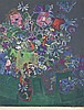 Roger BEZOMBES (1913-1994)  Vases de fleurs  Lithographie en couleurs, signée en bas à droite et justifiée Epreuve d'Artiste   80 x 60 cm, Roger Bezombes, €200