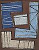 Jean LEPPIEN (1910-1991)  Roquebrune -Village,1953  Huile sur toile cartonnée  Signée et datée en bas à gauche : Jean Leppien 53 ; monogrammée, datée et inscrite au dos : JL 8/53 LXXX  34,5 x 26,8 cm, Jean Leppien, €2,500