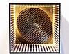 Julio LE PARC (Né en 1928)   Sans titre, 1960-69  Caisson lumineux en bois, plexiglas, lampe, plaque inox   50 x 50 x 50 cm  Provenance : Collection privée, Paris, Julio Le Parc, €4,000