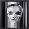 Fred BENOIT (XX-XXIème siècle)  La vanité noire  Tirage original sur papier photo fuji.  Signé. Editée à 30 exemplaires. Le présent exemplaire numéro 7/30.  34,5 x 34,5 cm, Fred Benoit, €450