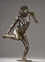 Edgar DEGAS (1834-1917)  Danseuse regardant la plante de son pied droit