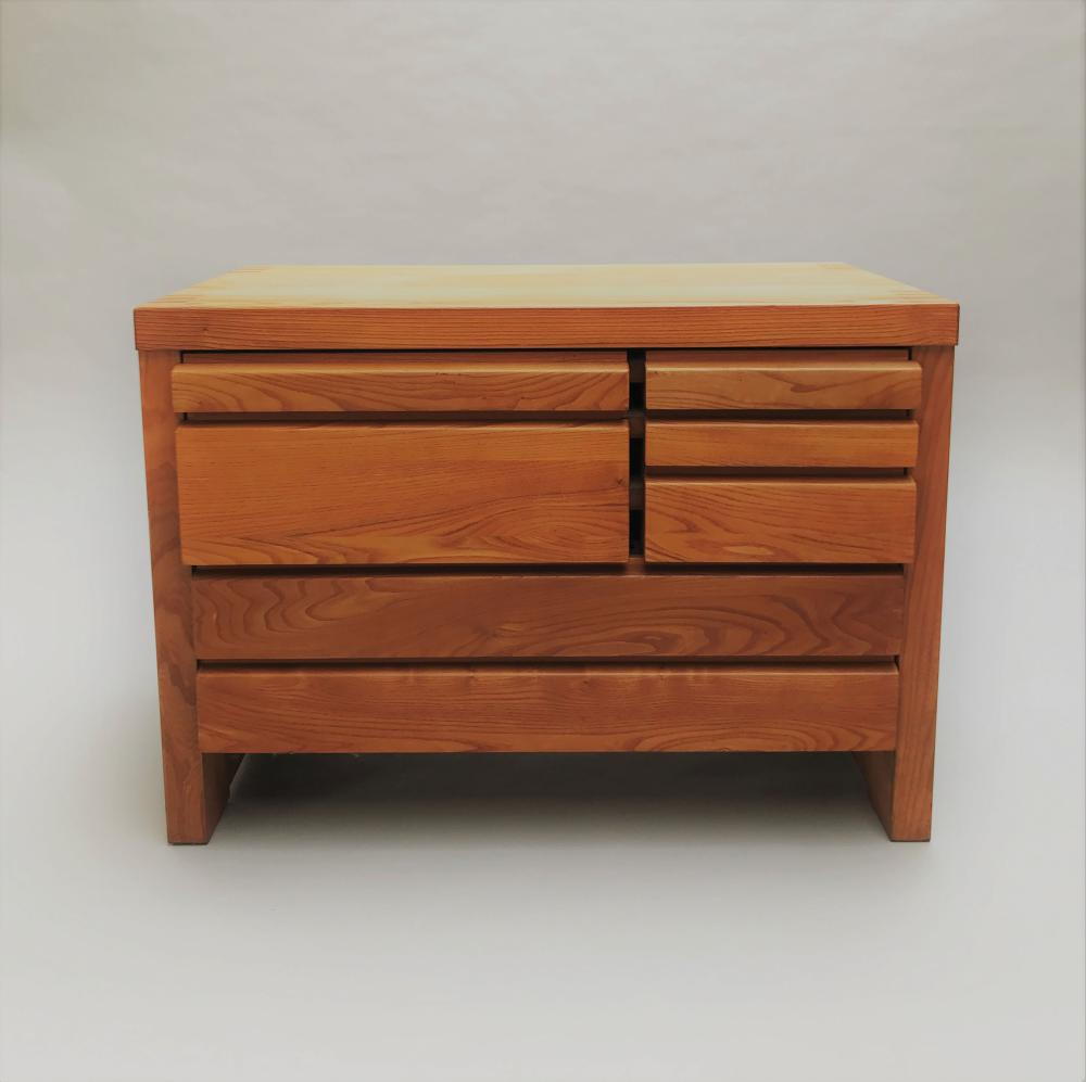 PIERRE CHAPO (1927-1987)   Commode mod. R19A - Circa 1965