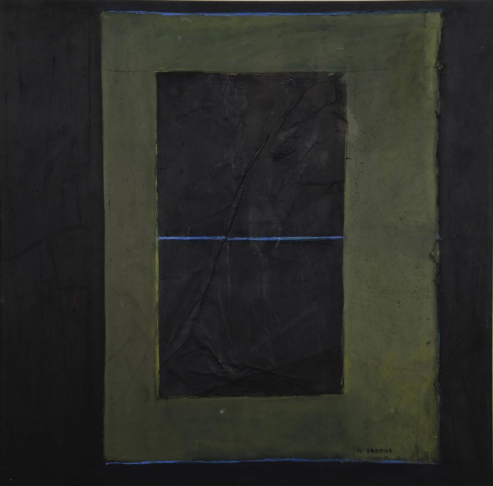 Martine DROIXHE (Né en 1954)  Composition abstraite,1990