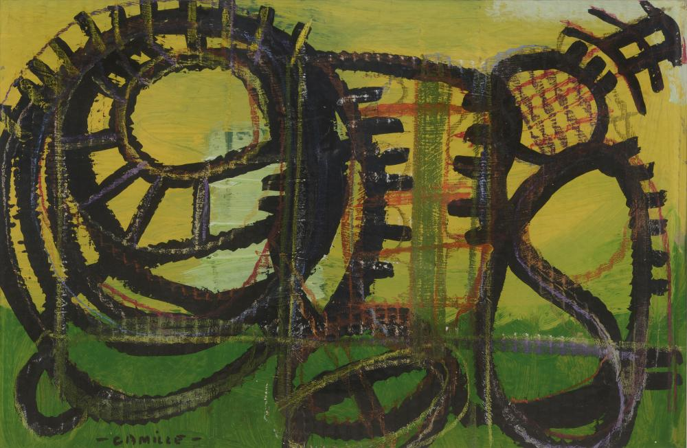 CAMILLE (1926-2012)  Composition abstraite