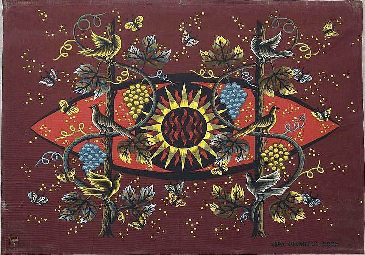 Jean PICART LEDOUX (1902-1982) Le soleil et la
